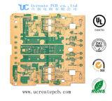 Aangepaste Harde Gouden die PCB met de Rand van de Raad voor Elektronisch wordt geplateerd