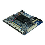 Atom D525 CPU firewall- networksicherheits-Motherboard sechs Gigabit LAN-Bypss