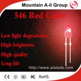 발광 Diode/LED 표시 점화가 546 빨간 발광 다이오드 표시에 의하여 점화한다