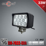 7 인치 33W 크리 말 LED Car Driving Work Light (SM-7033-SXA)