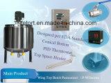Paraboloïde Extrémité Batch Pasteurizer avec 500L Pasteurization Capacity (séries de P-WD)