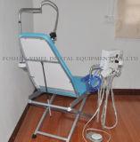 치과 휴대용 접는 의자 이동할 수 있는 Unit+Turbine 단위