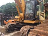 Excavatrice utilisée du tracteur à chenilles 320b, excavatrices hydrauliques de tracteur à chenilles