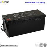 batterie profonde du cycle AGM de 12V 9ah pour le système d'alarme