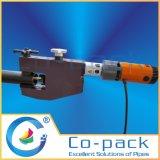 Machine taillante d'extrémité de faible puissance de tube