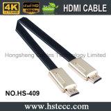 Кабель горячего металла плоский HDMI высокого качества надувательства на TV 2016