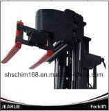 Carrello elevatore elettrico di stato stretto della navata laterale di modo di prezzi di fabbrica 3