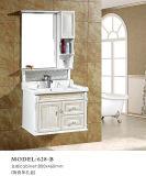 Одиночный шкаф ванной комнаты тщеты ванной комнаты PVC раковины/PVC
