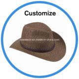 Paja de encargo del sombrero de vaquero
