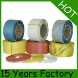 De maagdelijke Materiële Gele Plastic Riem van pp