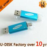 USB Flash Drive de 4-64GB Custom Logo Mobile Cell Phone Dual OTG (YT-1201-03)