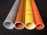 Fiberglass isolamento da tubulação, fibra de vidro Tubo com resistente à corrosão