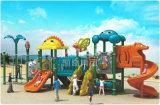 Campo da giuoco esterno di plastica dei bambini compatti per l'iarda di banco, supermercato, hotel, asilo