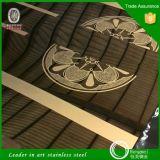 Plaat van het Roestvrij staal van de kleur de Spiegel Opgepoetste Geëtsteb voor Lift