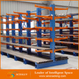 Support en acier d'encorbellement d'entreposage en pipe d'entrepôt