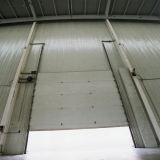 Industrie-Schnitttür/Lager, das Industrie-Tür/automatische Industrie-obenliegende Tür (HF-019, schiebt)