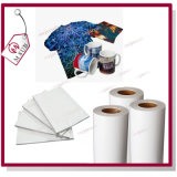 Papel do Sublimation da tintura 100GSM do Inkjet 1.6*100m no rolo