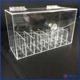아크릴 립스틱 조직자 방진 Lipgloss 홀더 상자 메이크업 저장 아름다움 콘테이너