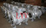 Válvulas de esfera de aço forjadas da pressão do eixo