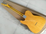 Hanhai Music / Preço de venda Yellow Tele Style Guitarra elétrica
