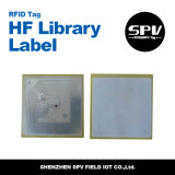Etiqueta passiva do papel da biblioteca do Hf de RFID