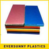 Feuille ondulée de plastiques du prix de gros pp d'usine