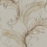 Parete Panel, Modern Design Wallpaper italiano con Big Leaves