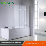 Tela de chuveiro de alumínio do Frame-Menos para o banheiro