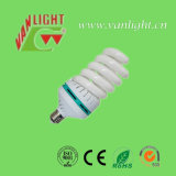 High Power T6 completa espiral 85W CFL, lámpara ahorro de energía