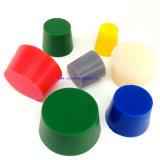 Plugue colorido personalizado da borracha de silicone