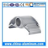 Profil en aluminium personnalisé industriel de l'extrusion AA6063-T5