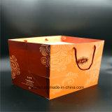 Bolso de empaquetado elegante del papel de imprenta para el alimento