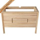 Тщета мебели ванной комнаты деревянного надувательства цвета горячего свободно стоящая
