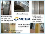 Omega Best Sell 32 Trays Industrial Multifunction Gas Rotary Oven für Bakery