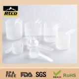 Colher de medição do plástico da proteína dos materiais dos PP