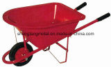 Wheelbarrow pequeno do metal do miúdo