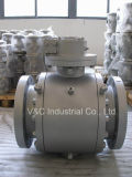 Epoxy Resin PaintingのAPI Trunnion Flange Ball Valve