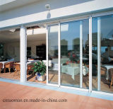 Двойное стеклянное алюминиевое сползая окно с москитом Screem (TMAW0621)