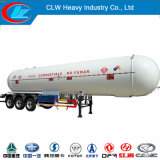 Asme Certificated 40000liters 2 Axle ou 3 Alxle LPG Semi Trailer à vendre