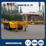2016 nuovo Manufacture Skeleton Container Semi Trailer da vendere