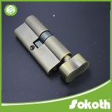 Полностью замок цилиндра твердого латунного горячего двойника надувательства открытый (SKT-C030)