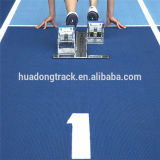 IAAF Atlético Synthetic Rubber Flooring Correr Pista materia mate