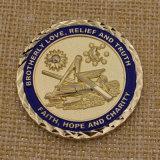 Монетки возможности изготовленный на заказ металла сувенира Masonic дешевые