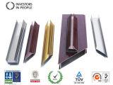 Profils en aluminium/en aluminium d'extrusion pour le guichet