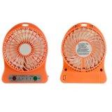 Koelere Draagbare Navulbare Ventilator USB van de mini LEIDENE de In werking gestelde Lucht van het Bureau