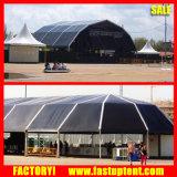 le dôme polygonal en aluminium de 30m termine l'événement permanent de tente de structure