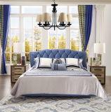 高品質の寝室の家具または贅沢1.8mの柔らかいベッドの本革のベッド(Jbl2005)