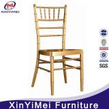 Metal popular de los muebles de encargo del hotel que cena la silla Wedding amontonable de Chiavari de la silla
