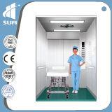 """7 """" LCD Lift van het Ziekenhuis van het Roestvrij staal van de Vertoning Hairline"""