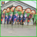 Customized Flag Pole Teardrop Sail Banner Flags (TJ-12)